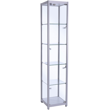freestanding glass cabinet f-400