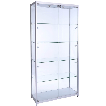 800mm wide glass display cabinet f-800