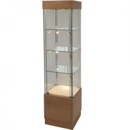 freestanding glass cabinet pr5101-swc5