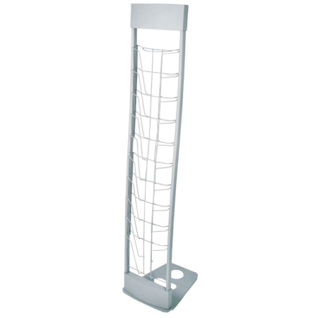 10-up deluxe a4 literature display stand
