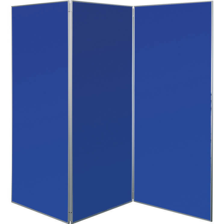 3 Panel Large Display Boards Hinged Display Boards