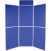 6 panel folding display boards - medici