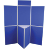 7 panel folding display boards - medici