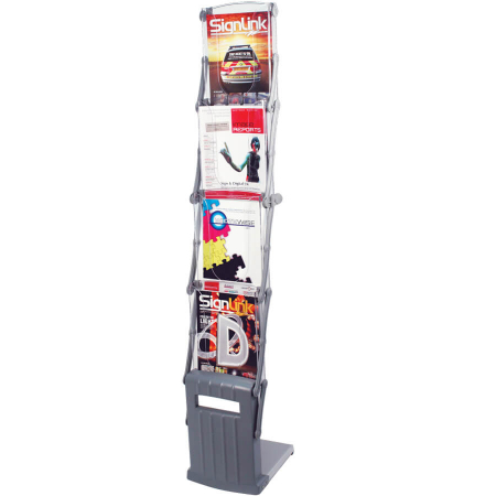 cascade a4 literature display stand
