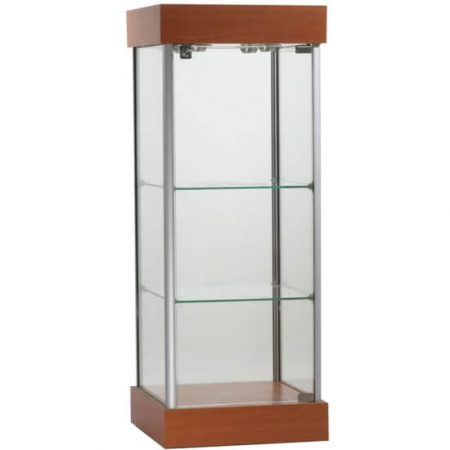 counter top glass display case ctw-02