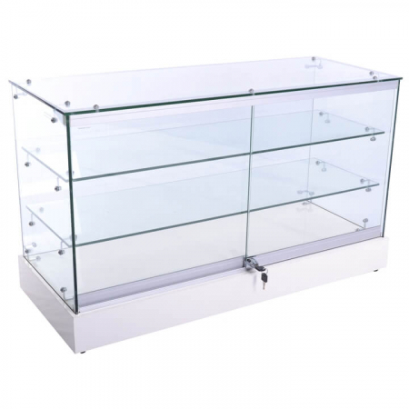 1016mm wide Glass Display Counter - WCTS-1 back