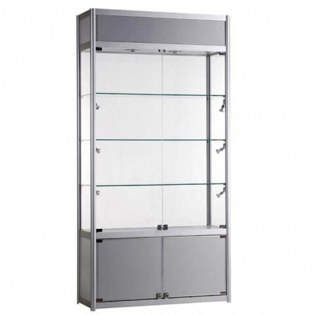 freestanding display cabinet - fwc-tc-1000