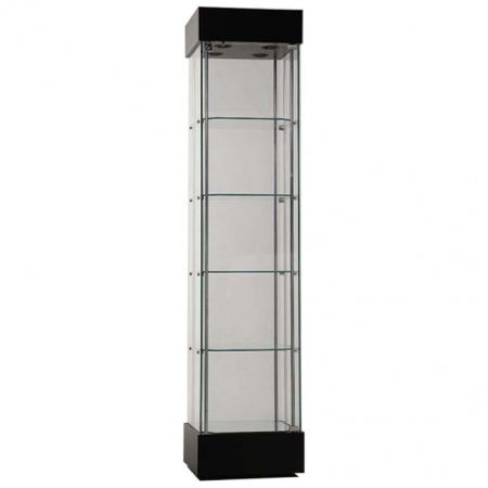 freestanding display cabinet - f457nr in black