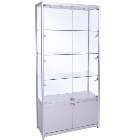 freestanding display cabinet - fwc-1000