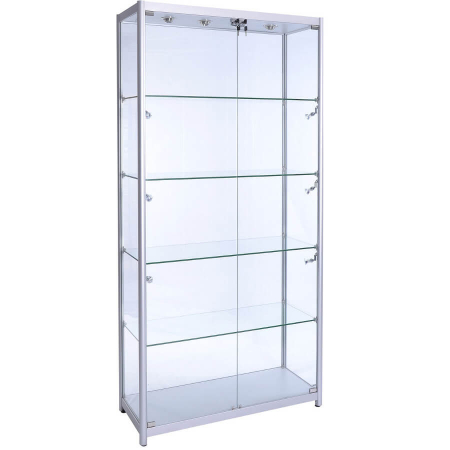 freestanding glass display cabinet - f-1000
