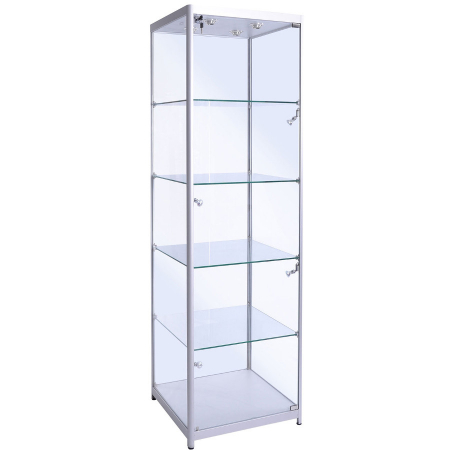 freestanding glass cabinet - f-600
