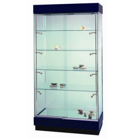 freestanding glass display cabinet - pr5300