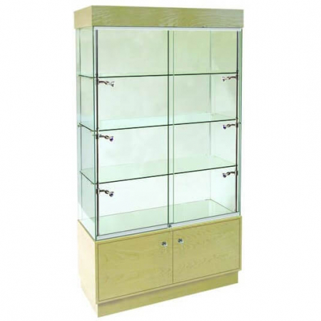 freestanding glass display cabinet - pr5301