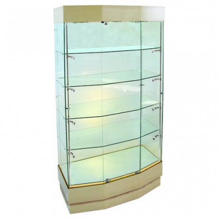 freestanding glass cabinet - pr-5400