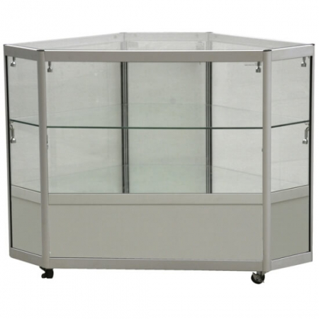 glass corner display counter cco2-600