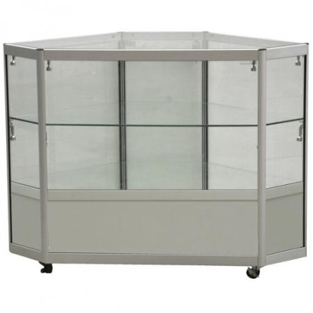 glass corner display counter cco2-600