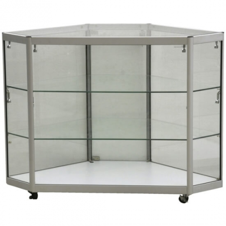 glass corner display counter cco3-600