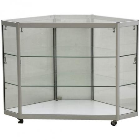 glass corner display counter cco3-600