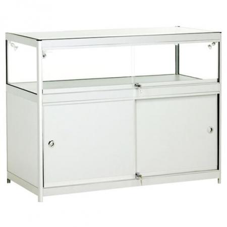 glass display counter - c1-600