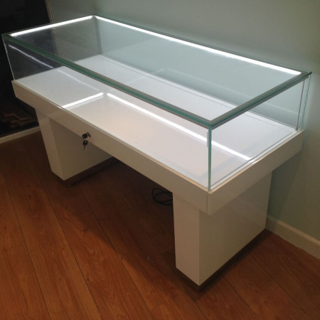 glass display counter - ledc-1500