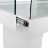 glass display counter - ledc-1500 - sliding drawer