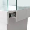 glass display counter - ledc-1500 sliding drawer