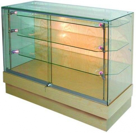 glass display counter - pr5006