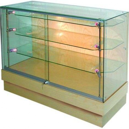 glass display counter - pr5006