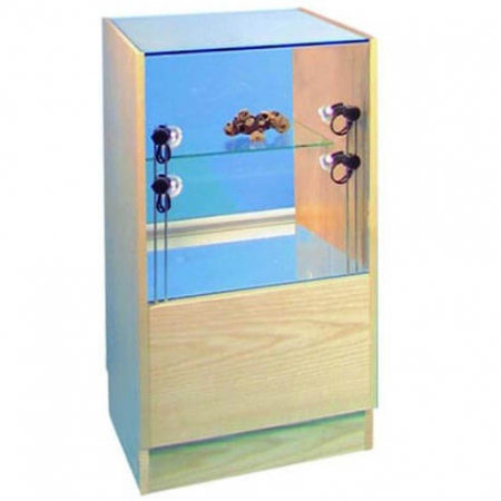 glass display counter - pr5019