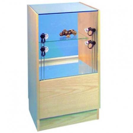 glass display counter - pr5019