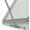 media compact a4 literature display stand - close-up