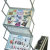 zed up lite a3 portable literature stands