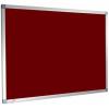 felt notice board - burgundy
