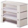 plus promotional counter with 2 shelves