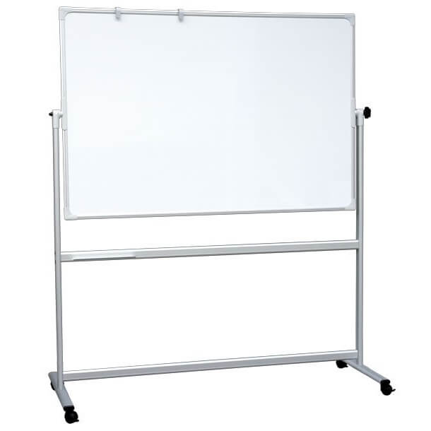 portable revolving magnetic whiteboard including stand - Magnetic White Board