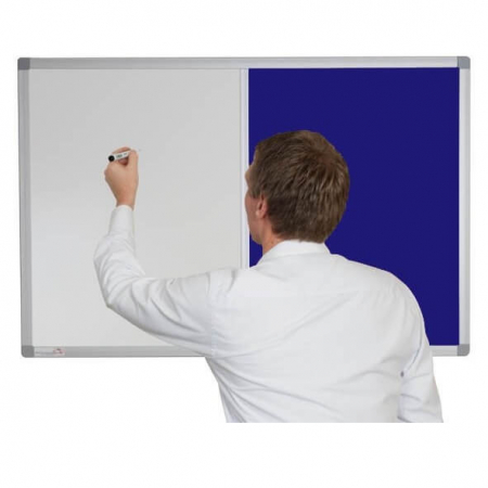 Whiteboard and Pin Board Combination - Oxford