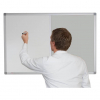 Whiteboard and Pin Board Combination - Silver