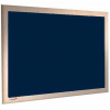 Midnight - Charles Twite felt notice board with wood frame