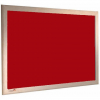 Peony - Charles Twite felt notice board with wood frame