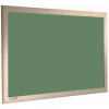 Sage Green - Charles Twite felt notice board with wood frame