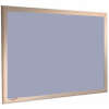 Silver Birch - Charles Twite felt notice board with wood frame