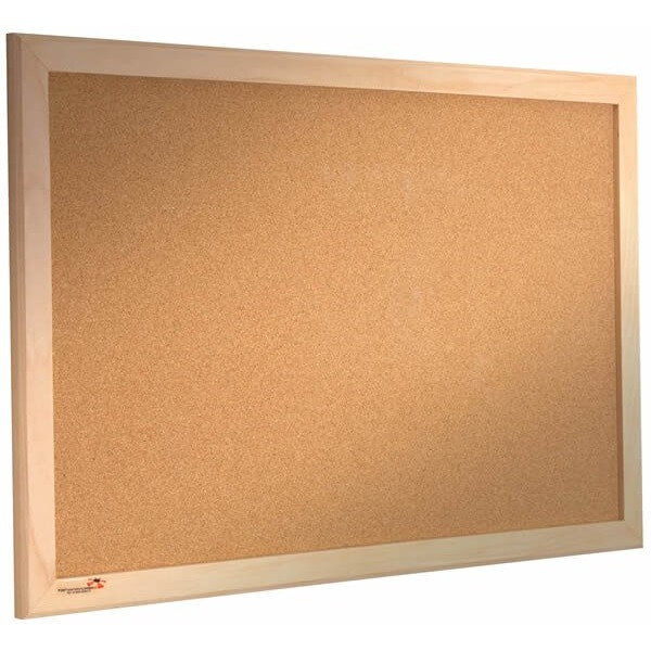 Wood Framed Cork Notice Board (Various sizes) - Access Displays