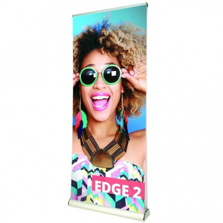 edge 2 banner stand