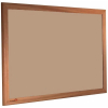 Blanched Almond - 2186 - Forbo Nairn pinboard with wood frame
