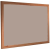Brown Rice - 2187 - Forbo Nairn pinboard with wood frame