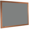Duck Egg - 2162 - Forbo Nairn pinboard with wood frame