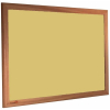 Fresh Pineapple - 2212 - Forbo Nairn pinboard with wood frame