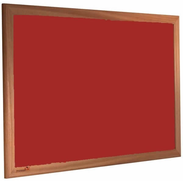 Wood Framed Forbo Nairn Pinboard Notice Board (Various sizes ...