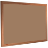 Nutmeg Spice - 2166 - Forbo Nairn pinboard with wood frame