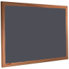Poppy Seed - 2204 - Forbo Nairn pinboard with wood frame